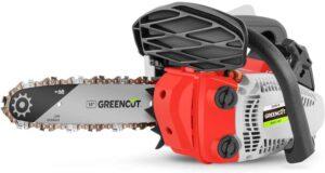 Motosierra barata de gasolina Greencut