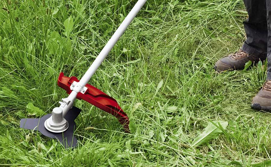 Como utilizar la desbrozadora en jardin
