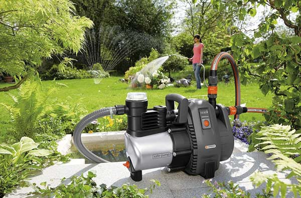 Bomba de riego para jardin