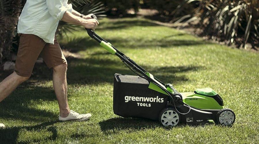 Cortacesped a batería Greenworks